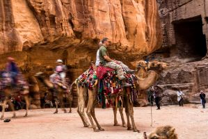 Entering Petra 3 by ShlomitMessica
