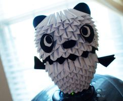 3d Origami Panda by gracy2227