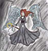 Gothic Angel by LadyDarkStar