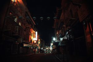 Deserted Chinatown II by KXZXW