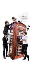 One Direction render 003 [.png] by Ithilrin by Ithilrin