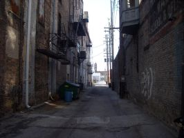 Alleyway -Stock- by Adin-Jenks