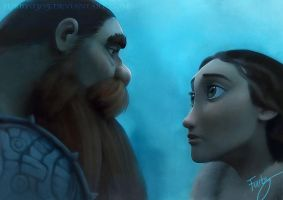 Stoick and Valka by Furby0305