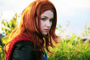 Amy Pond - When things change. by moonflower-lights