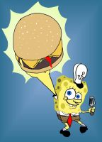 Krabby Patty by toongrowner