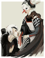 THE BIRD AND THE WOLF by meronsoda