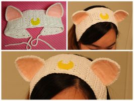 Artemis Inspired Headband from Sailor Moon by xMangoRose