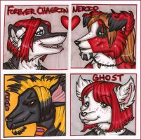 Gift Badges 1 Jan 09 by silverwing