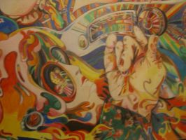 1967 Summer of Love close-up by tiger1lily