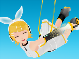 Kagamine Rin Append by RinLenFan