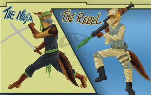 Update:Jackal ninja an Rebel by SteinWill