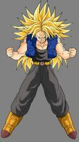 Trunks ssj3 by ExtremeNick