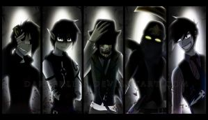Our Worlds [Creepypasta OC Wallpaper] by DaReckless