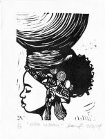 african woman by octopoo96
