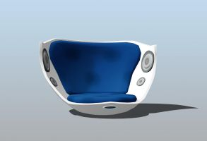 MMD - replaced puzzle gift: speakerballchair by Ina-C