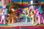 Mane Six Necklaces by lessthan3chrissy