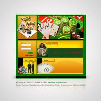 Poker -  Web Layout by Amita-Gandhi