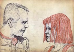 The Fifth Element by TheAbsurdBoy