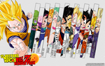 Dragonball Z Anime Render Pack 2 by TattyDesigns