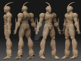 the guyver zbrush views by asgard-knight