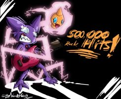 500 000 Rock Hits by TamarinFrog