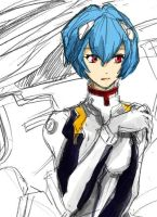 Rei Ayanami by piyo119