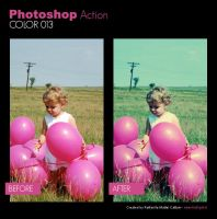 Photoshop Action - Color 013 by primaluce