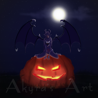 Demon halloween by Akyra93