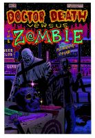 dr death vs zombie cover by kaviart
