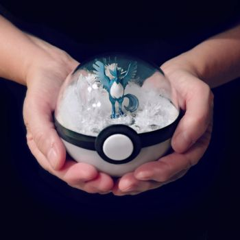 Team Mystic Poke Ball Terrarium by TheVintageRealm