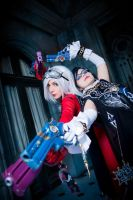 Bayonetta and Jeanne by Susana--chan