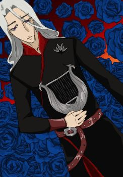 Rhaegar Among the Winter Roses by dah-in222