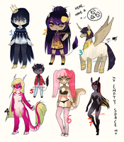 RESALE Adoptables [CLOSED] by Siraviena