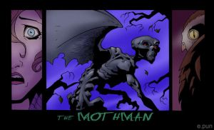 Mothman by pungang