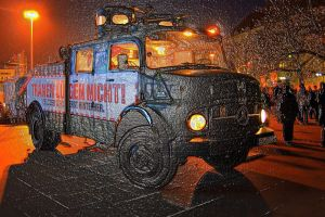 water cannon truck by Stratege