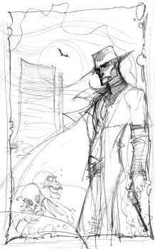 Dark Tower cover by J-Scott-Campbell