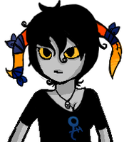 Homestuck FC Talk Sprite by HarvesterofPearls