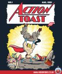 Action Toast T-shirt Design by alsnow