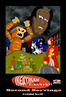 Meatman and Candygirl Movie Poster by garageman45