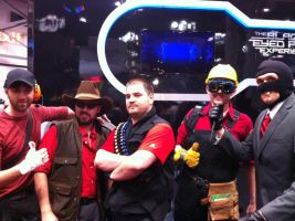 NYCC 2011 - Team Fortress 2 by BluePhoenix-Ra