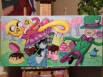 Adventure Time in Wonderland by pinksnowdevil