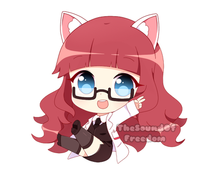 Chibi Commission 01 by TheSoundOfFreedom