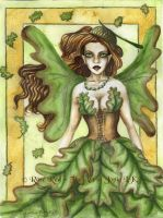 Oak Tree Faery by Laiyla