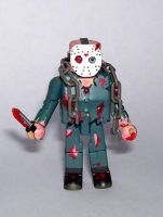 Jason Voorhees Custom Minimate by luke314pi