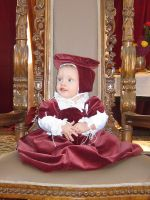 2011 Pink velvet English gown by Cuddlyparrot