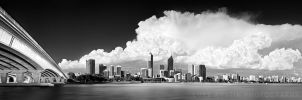 Perth City - Black and White by LukeAustin