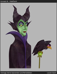 Fabric Maleficent by Teh-Scotty