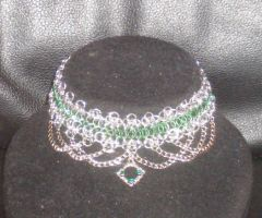 Forest Sprite choker by enchantress13