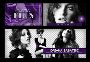 Pack Png 673// Oriana Sabatini by ExoticPngs