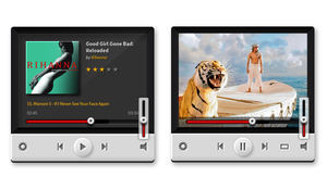 Music and Video Players (PSD) by softarea